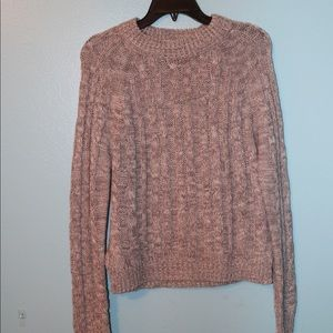 Papaya Gray Sweater